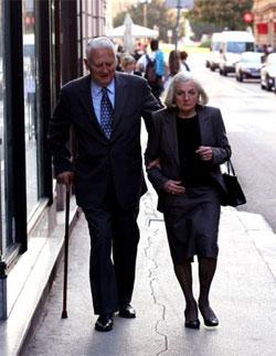 Oto Reisinger sa suprugom Pavicom (Foto: Siniša Kosić /Medijska mreža)