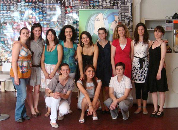 članice udruge Pet+ u društvu voditeljice Jelene Balabanić Mavrović