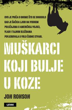 naslovnica knjige Muškarci koji bulje u koze
