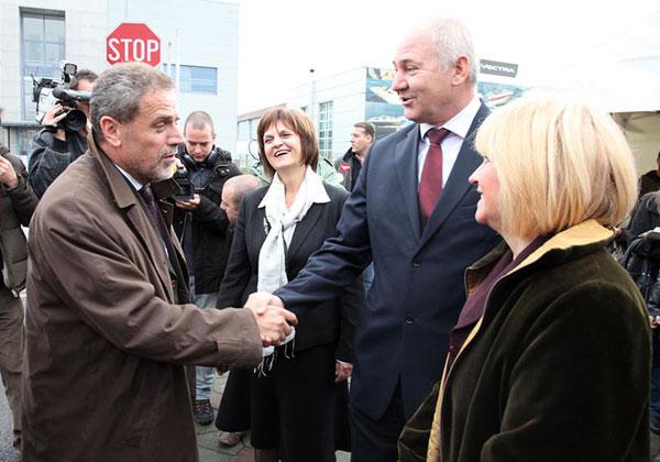 Milan Bandić i Ivo Čović (Foto: Saša Zinaja /Medijska mreža)