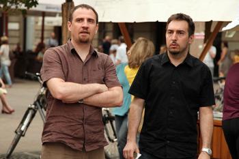 Teodor Celakoski i Tomislav Tomašević iz Zelene akcije (foto: Saša Zinaja / Medijska mreža)