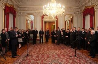 Novogodišnji domjenak u palači Dverce (foto: Saša Zinaja / Medijska mreža)