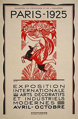 Plakat Pariške izložbe iz 1925.godine