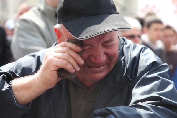 na Trgu nakon izricanja presude (Foto: Saša Zinaja /Medijska mreža)