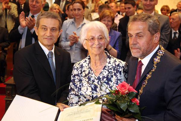 Boris Šprem, Slavica Kanić Detelić, Milan Bandić (Foto: Saša Zinaja /Medijska mreža)