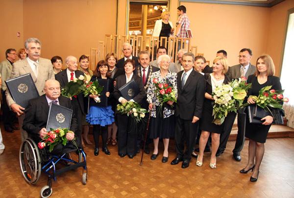 nagrađeni Nagradom Grada Zagreba (Foto: Saša Zinaja /Medijska mreža)