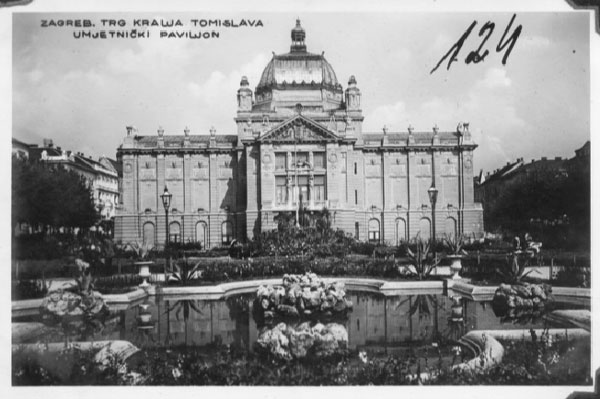Trg kralja Tomislav s Umjetničkim paviljonom