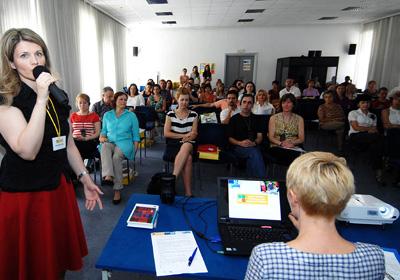 predstavljanje rezultata projekta Zdravi eko život - Jelena Balabanić Mavrović (Foto: Renato Branđolica /Medijska mreža)