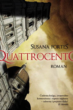 naslovnica romana Quattrocento