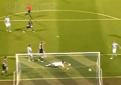 prvi Sammirov gol na utakmici Dinamo - Malmo