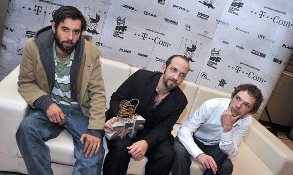 Tin Žanić, Michael Fuith i Saša Ban (Foto: Nina Đurđević /ZFF)