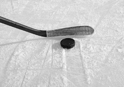 hokej, ilustracija