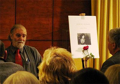 na predsavljanju grafičke mape u čast Vesni Parun (Foto: Društvo prijatelja Slunja i Rastoka)