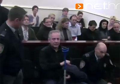 Ivo Sanader u sudnici