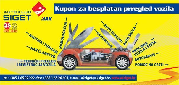 besplatni pregled ispravnosti vozila