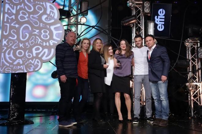 Croatia Effie - pobjednički tim