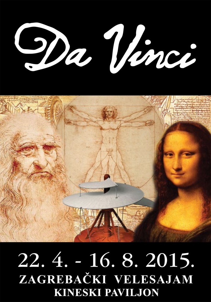 Da Vinci na Zagrebačkom velesajmu3
