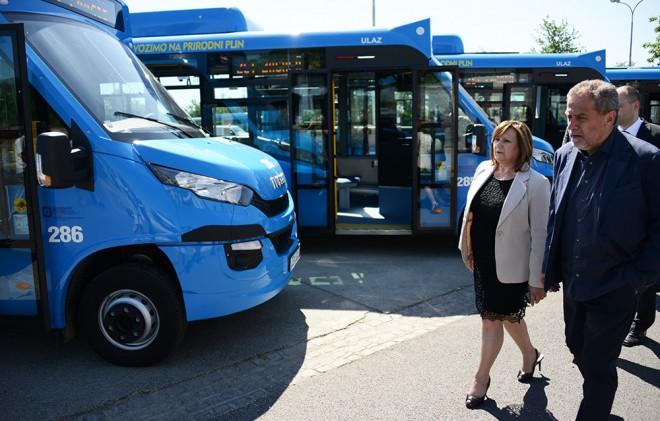 ZET predstavio autobuse na plin