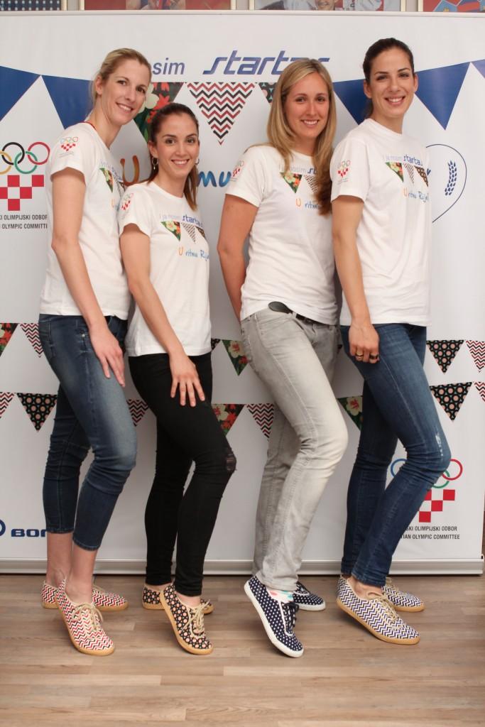 Hrvatski olimpijci u Startas tenisicama