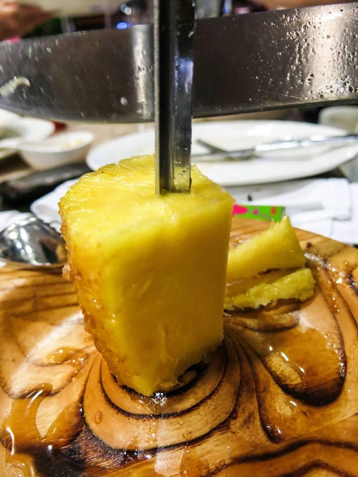 Ananas na žaru