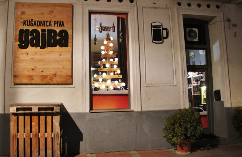 Gajba-Craft BeerBar Osijek