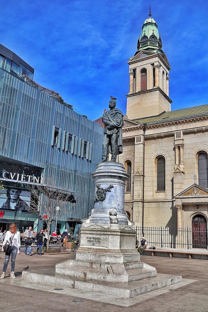 Trg Petra Preradovića u Zagrebu, nazvan po preporoditeljskom velikanu Petru Preradoviću. Među zagrepčanima općenito poznatiji kao Cvjetni trg.