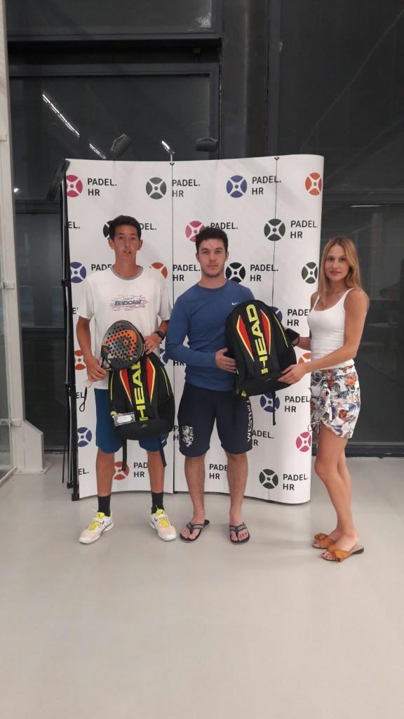 1. mjesto glavni turnir - Filip Šeatović i Karlo Suevich