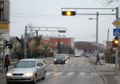 'Semafor bez voznog reda' (Foto: Mislav Nekić)