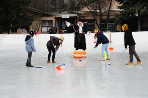 Igra Krafling je zamaskirani Curling