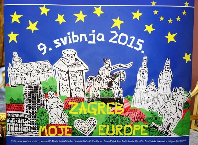 Dan Europe u gradu Zagrebu kroz oči osnovnoškolaca