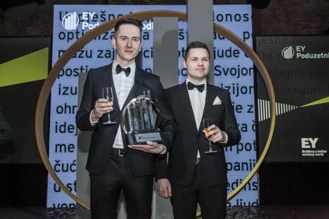 Poduzetnici Zoran Vučinić i Alan Sumina