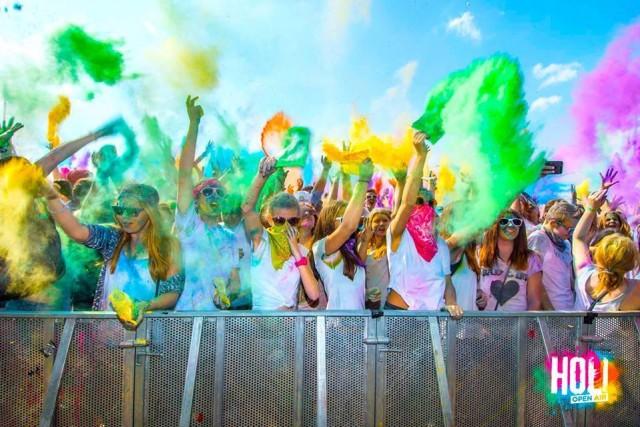 HOLI festival boja