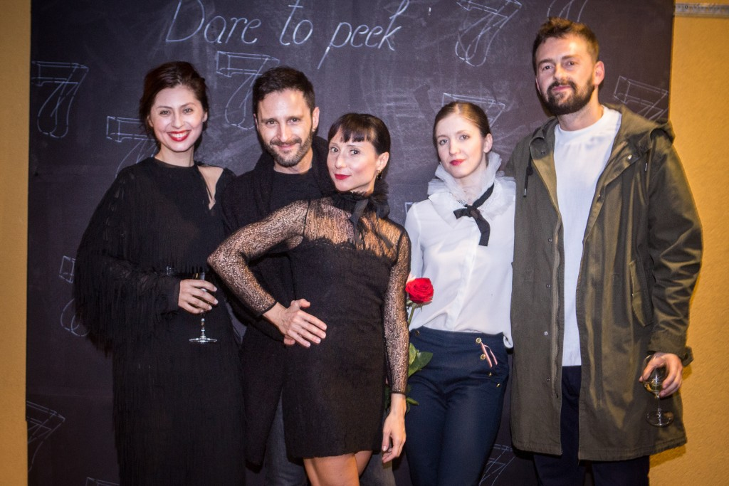 Judita Franković, Andrea Solomun,  Ema Janković i Envy Room