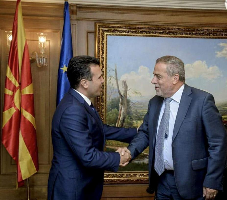 Gradonacelnik Bandić s predsjednikom Vlade Republike Makedonije